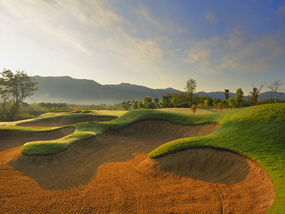 Chiangmai highlands, golf in Thailand, Golf in the Kingdom