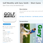 Golf Monthly, itunes app, golf instruction, chipping,bunker play, wedge,short game