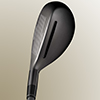 Golf Equipment test Adams Golf Pro Hybrid, Face and Top view
