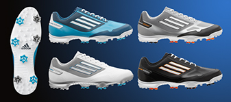 Mancha Barriga Lágrimas  Adidzero One Golf Shoes, Golf Equipment Review