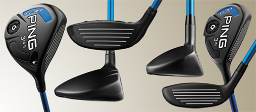 Golf Equipment test Ping G30 3-wood & Hybrid line up