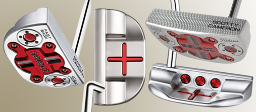 Golf Equipment test Scotty Cameron Select Fastback Putter, Line up