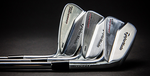 Golf Equipment test TaylorMade Tour Preferred MB Irons Hero 1