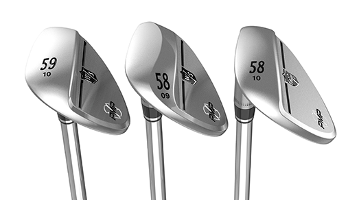 Golf Equipment test and review: Wilson Staff PMP Wedges three different grinds