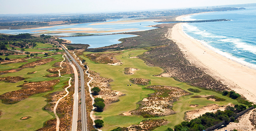 Overview of Palmares Golf Course