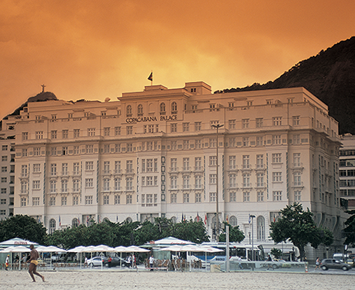 Hotel and spa reviews: Belmond Copacabana Palace Hotel and spa, front view