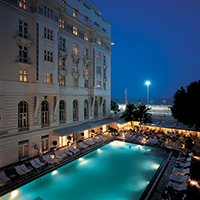 Hotel and spa reviews: Belmond Copacabana Palace Hotel and spa, swimming pool