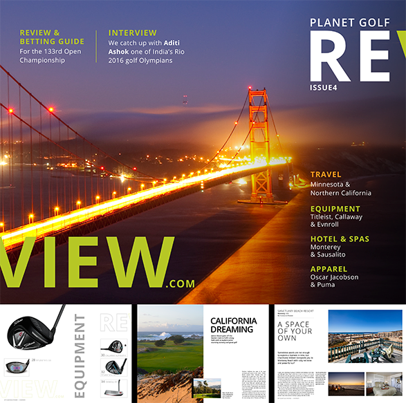 planetgolfreview digital magazine 3rd issue, Cover and selected pages