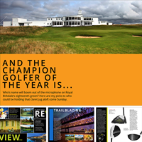 PGR Magazine Issue 7, planet golf review magazine issue seven