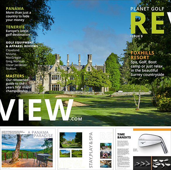 planetgolfreview digital magazine 9th issue, Cover and selected pages
