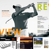 planetgolfreview magazine issue two cover