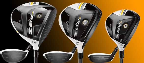 TaylorMade Stage 2 Driver, fairway wood and Tour Rescue
