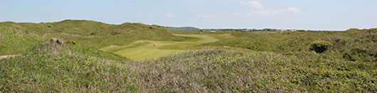 Pyle and Kenfig Golf Club 13th hole