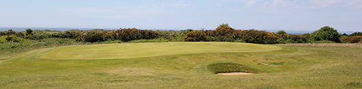 Pyle and Kenfig Golf Club 1st hole