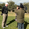 Golf Holiday News, Tunisia Golf Festival, competitor being interviewed