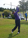 Golf Holiday News, Tunisia Golf Festival, competitor teeing off